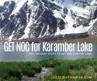 Get NOC for Karambar Lake