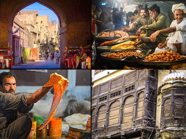 A city within a city, the magical walled city of Lahore